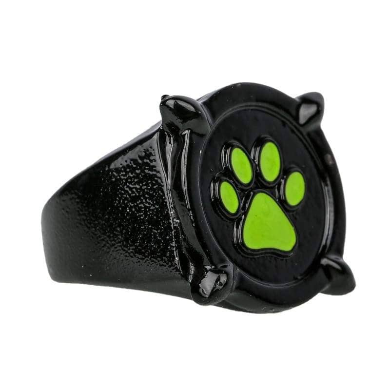 Xcoser Cat Noir Black Ring Deluxe Zinc Alloy Cosplay Accessory - Jewelry 3