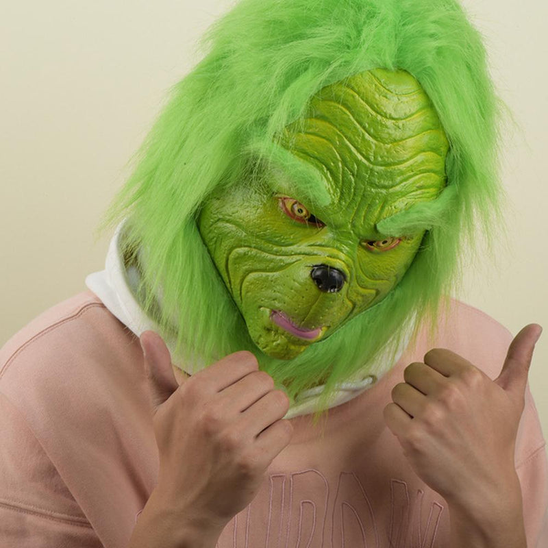 Xcoser Cosplay The Grinch How the Grinch Stole Christmas Cosplay Mask MaskB- Xcoser International Costume Ltd.