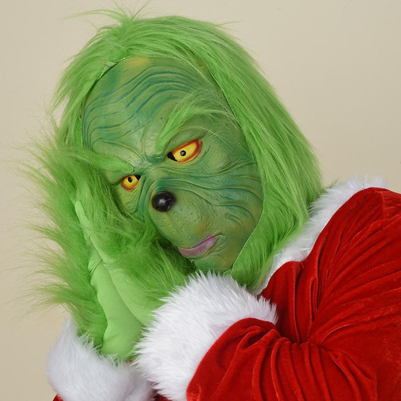 Xcoser Cosplay The Grinch How the Grinch Stole Christmas Cosplay Mask MaskA- Xcoser International Costume Ltd.