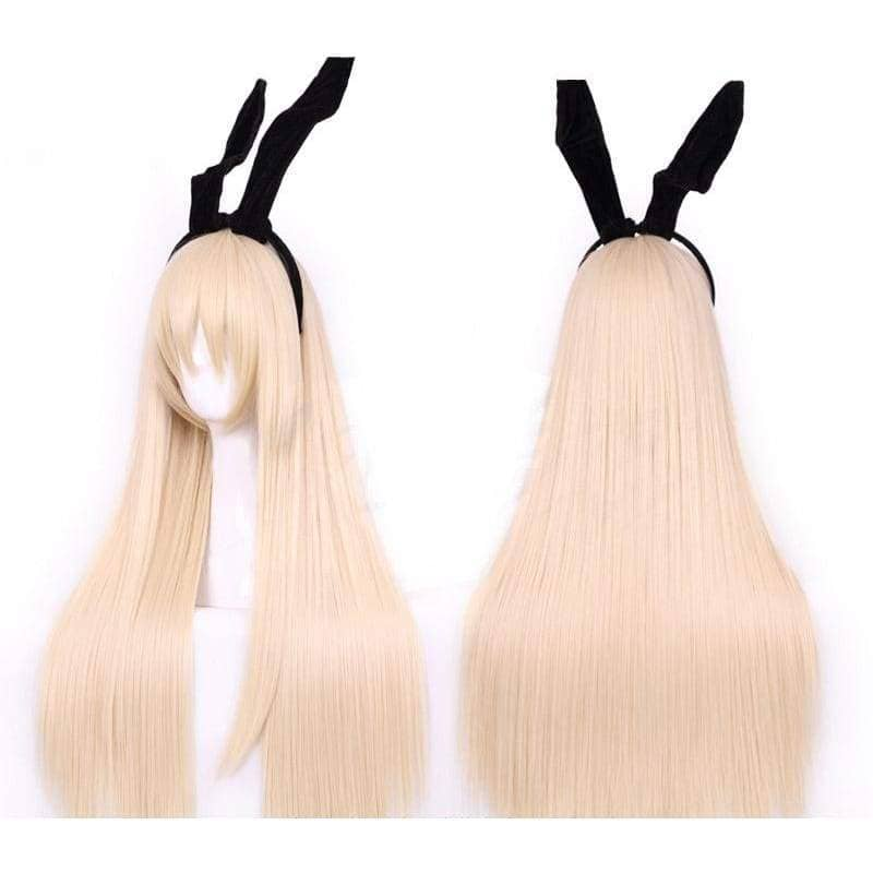 Xcoser Costumes Kantai Collection Cosplay Kancolle Shimakaze Wig Long Party Hair - Wigs 1