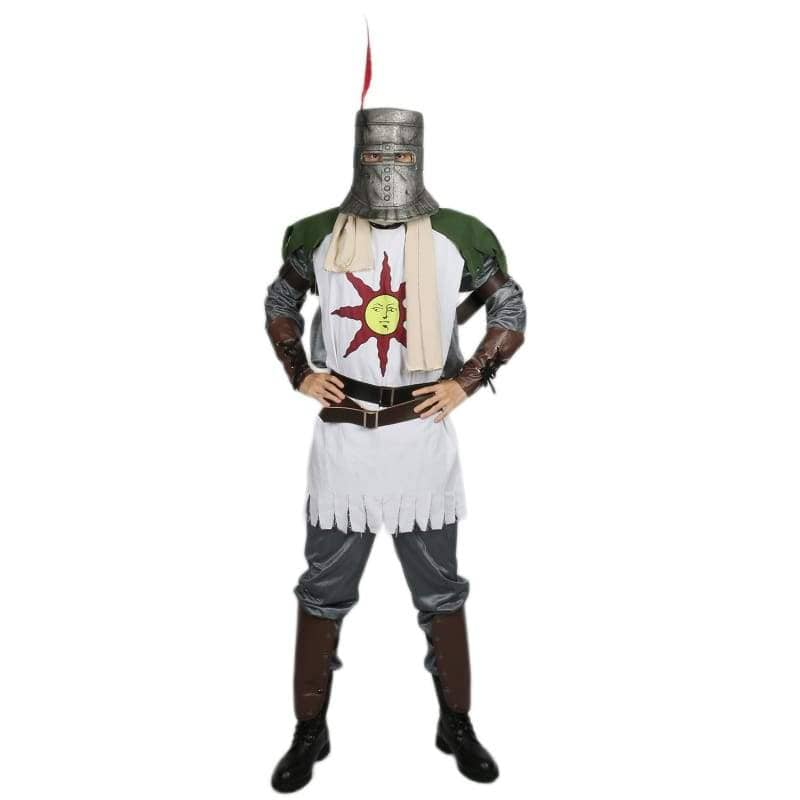 Xcoser Dark Souls Solaire Forever Sun Warrior Cosplay Costume CostumesM- Xcoser International Costume Ltd.