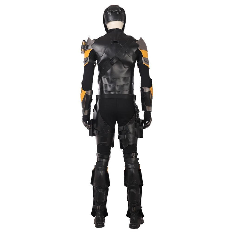 Xcoser DC Justice League Deathstroke Slade Joseph Wilson Cosplay Costume CostumesYellow- Xcoser International Costume Ltd.