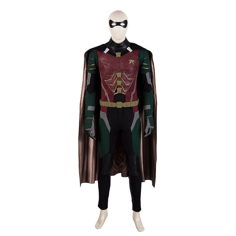Xcoser DC Titans Season 1 Robin Cosplay Costume CostumesS- Xcoser International Costume Ltd.