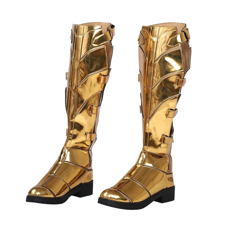 Xcoser DC Wonder Woman 1984 Diana Prince Golden Eagle Cosplay Boots Boots35- Xcoser International Costume Ltd.