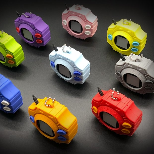 Xcoser Digimon Digivice Cosplay Props PropsYellow- Xcoser International Costume Ltd.