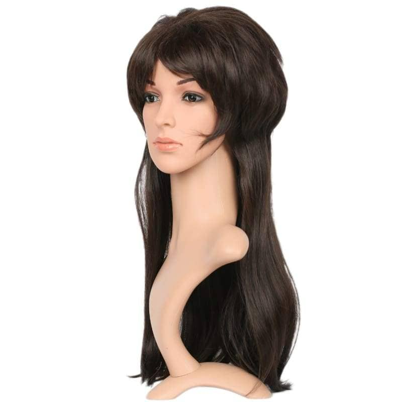 Xcoser Elvira Wig Long Straight Black Elviras Movie Macabre Cosplay Props Halloween - Wigs 2