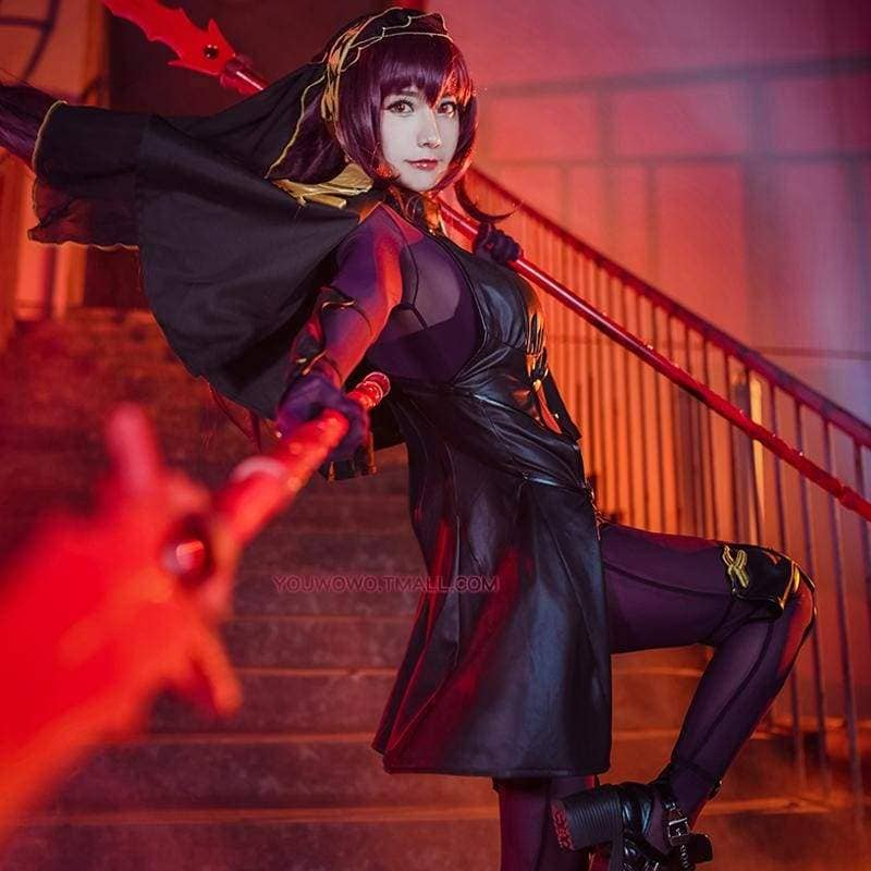 Xcoser Fate Lancer Scathach Cosplay Costume - Costumes 1