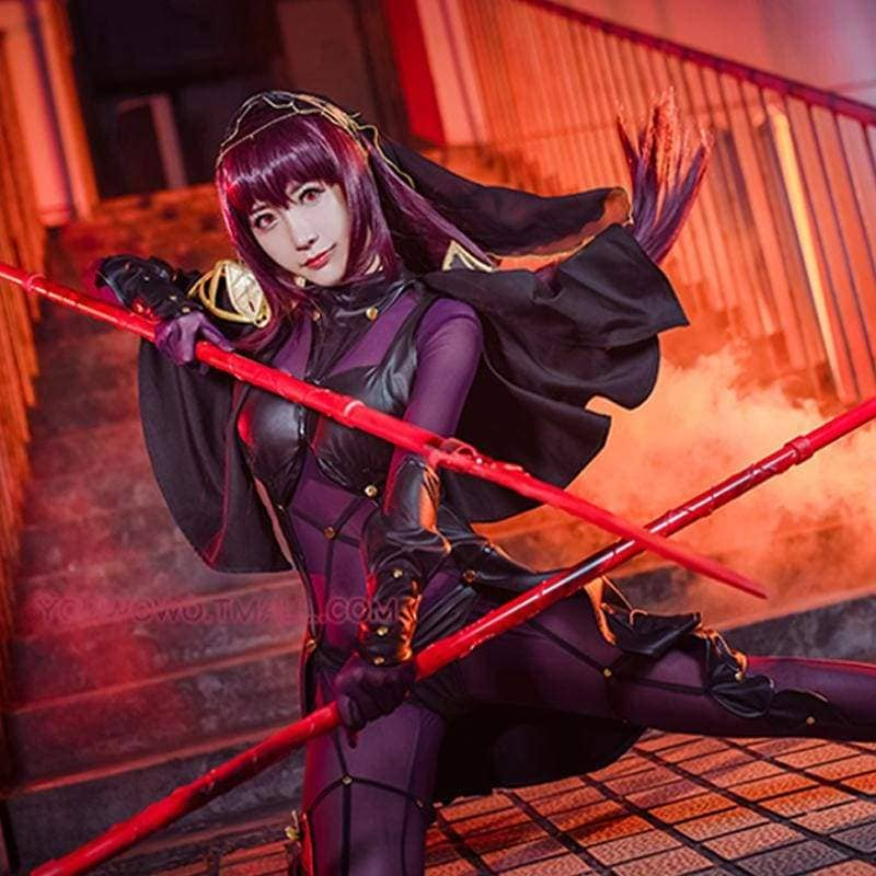 Xcoser Fate Lancer Scathach Cosplay Costume - Costumes 2