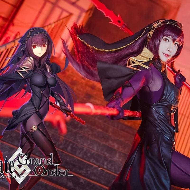 Xcoser Fate Lancer Scathach Cosplay Costume - Costumes 3