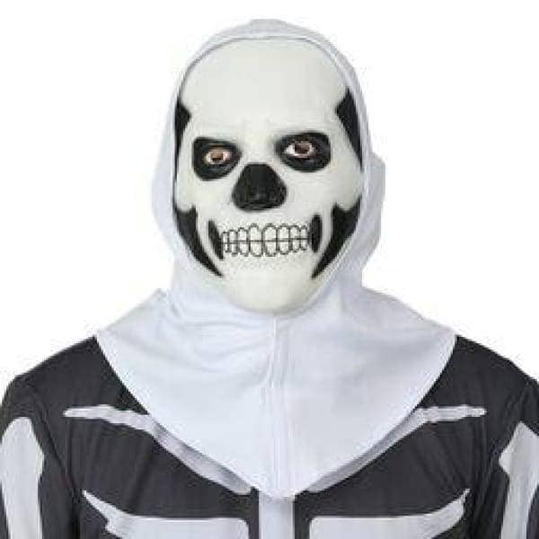 XCOSER Fortnite Hooded Skull Trooper Mask Halloween Cosplay Mask Mask- Xcoser International Costume Ltd.
