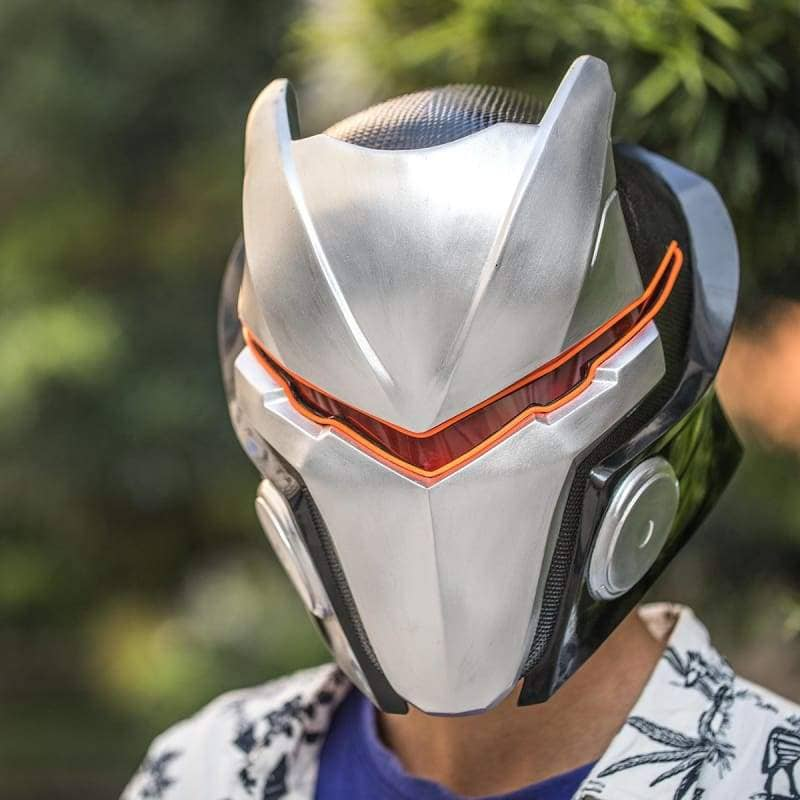 Xcoser Fortnite Season 4 Max Omega Helmet With Led Light - 2