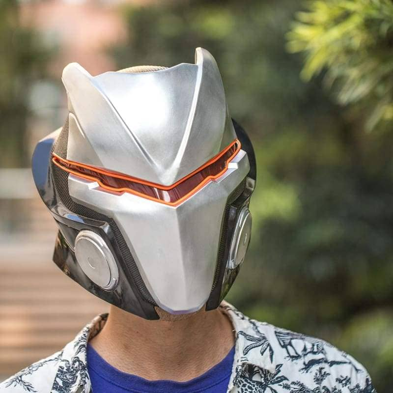 Xcoser Fortnite Season 4 Max Omega Helmet With Led Light - 5