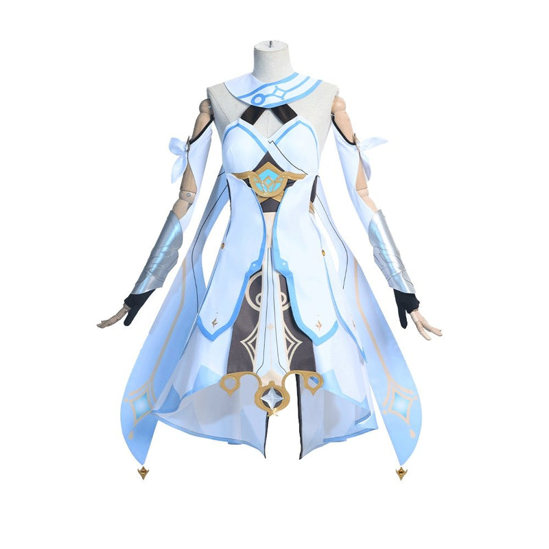 Xcoser Genshin Impact Traveler LUMINE YING Female Cosplay Costume CostumesXS- Xcoser International Costume Ltd.