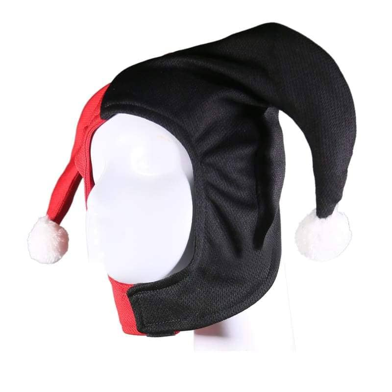 Xcoser Harley Quinn Classic Headwear Cosplay Accessories??Only For the United States??¡ìo? MaskBlack and Red-Only For USA- Xcoser International Costume Ltd.