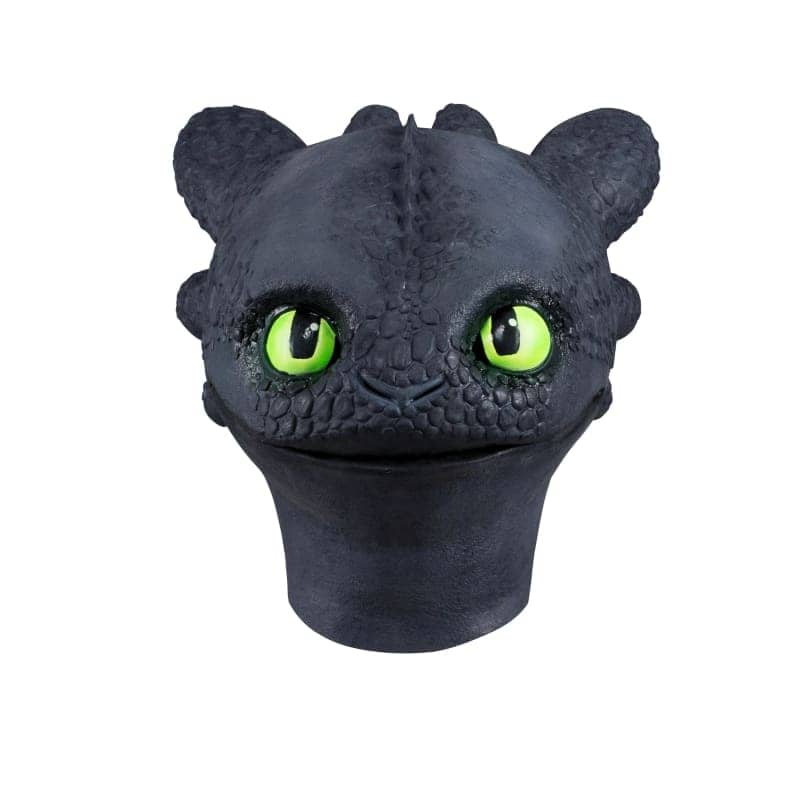 XCOSER How to Train Your Dragon 3 Toothless &Light Fury Helmet Cosplay Mask MaskLight Fury- Xcoser International Costume Ltd.