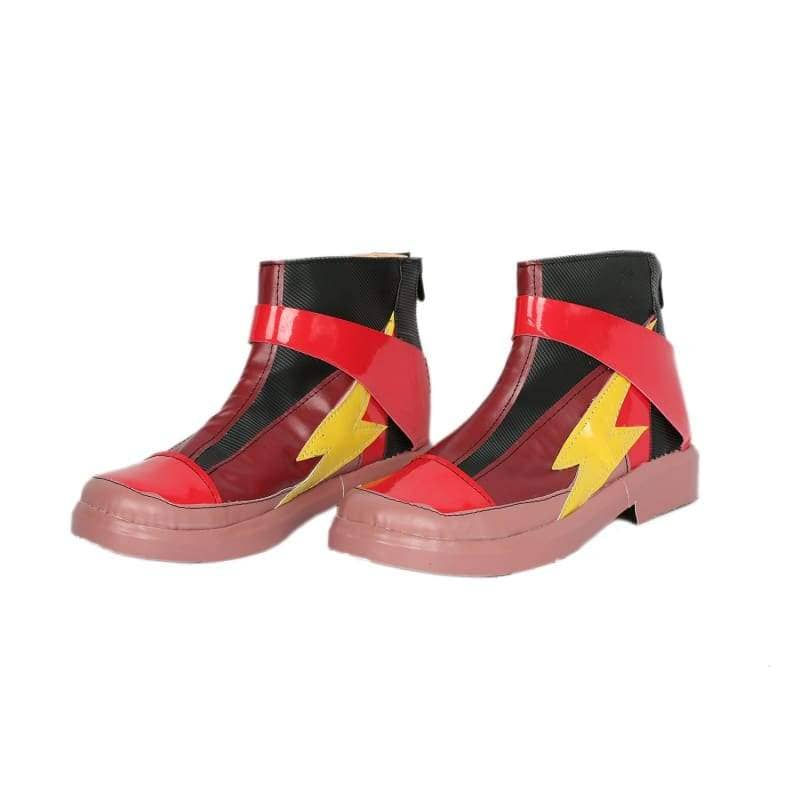 Xcoser Justice League The Flash Cosplay Boots - Custom Made - 7