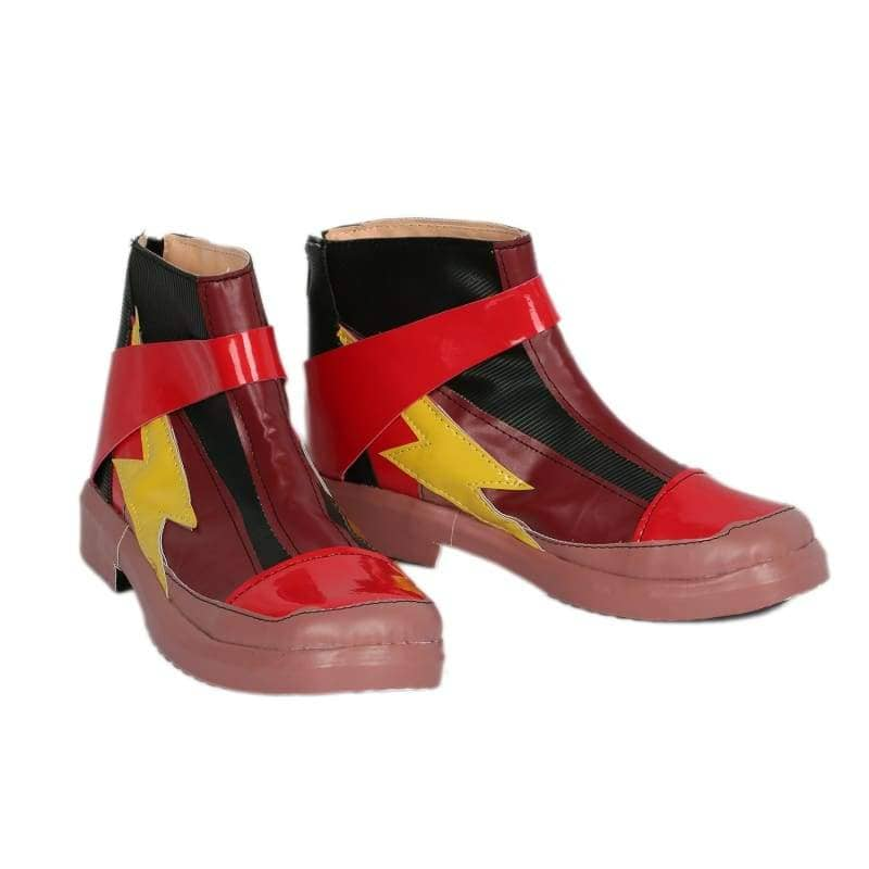 Xcoser Justice League The Flash Cosplay Boots - 5
