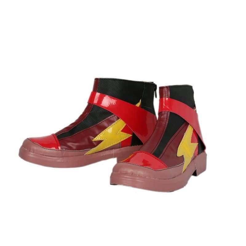 Xcoser Justice League The Flash Cosplay Boots - 4