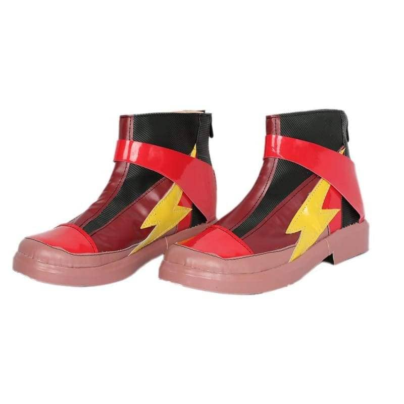 Xcoser Justice League The Flash Cosplay Boots - 1