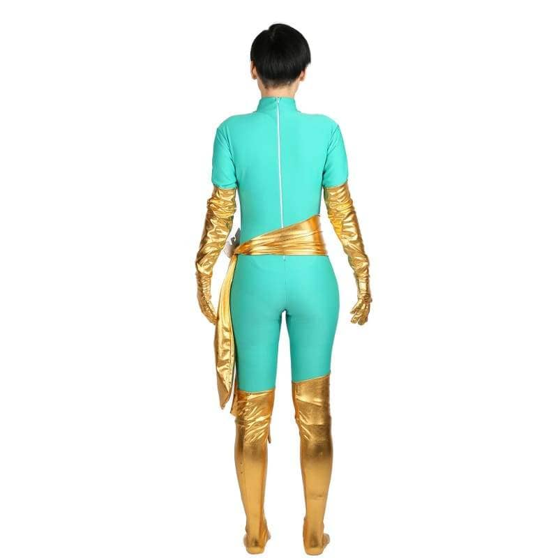 Xcoser Marvel Comics Jean Grey Cosplay Costume Phoenix Catsuit Trendy Womens Bodysuit - Costumes 3