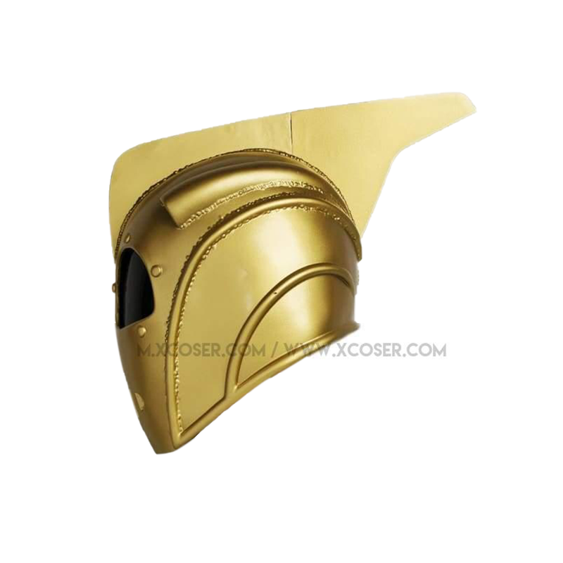 Xcoser Rocketeer Helmet Mask Props For Adult Halloween Cosplay Resin - 4
