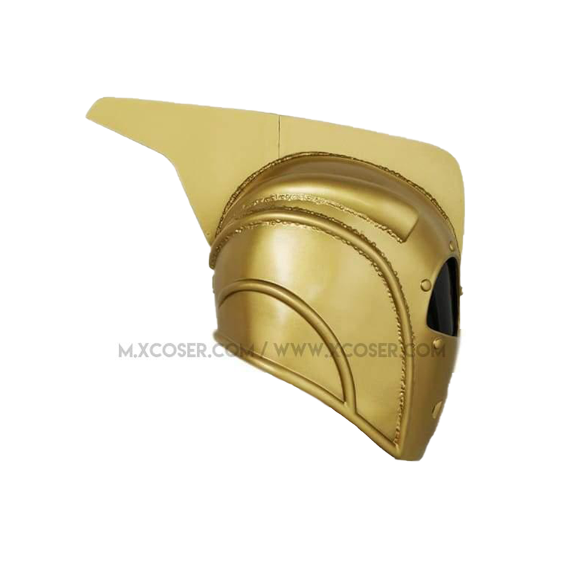 Xcoser Rocketeer Helmet Mask Props For Adult Halloween Cosplay Resin - 5