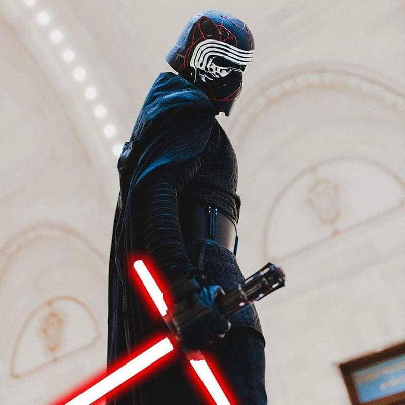 Xcoser Star Wars 9 : The Rise of Skywalker 2019 TROS Kylo Ren Cosplay Costume CostumesFull Costume- Xcoser International Costume Ltd.