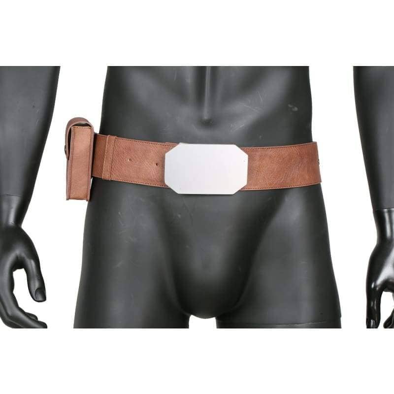Xcoser Star Wars Luke Brown Pu Leather Belt Cosplay Accessories - Props 4