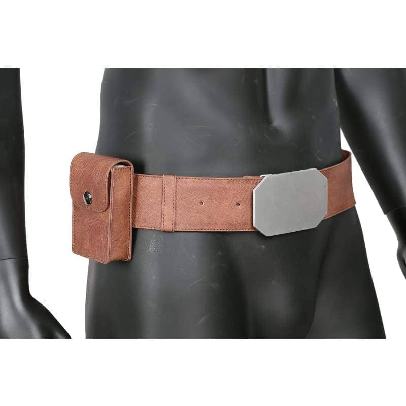 Xcoser Star Wars Luke Brown Pu Leather Belt Cosplay Accessories - Props 6