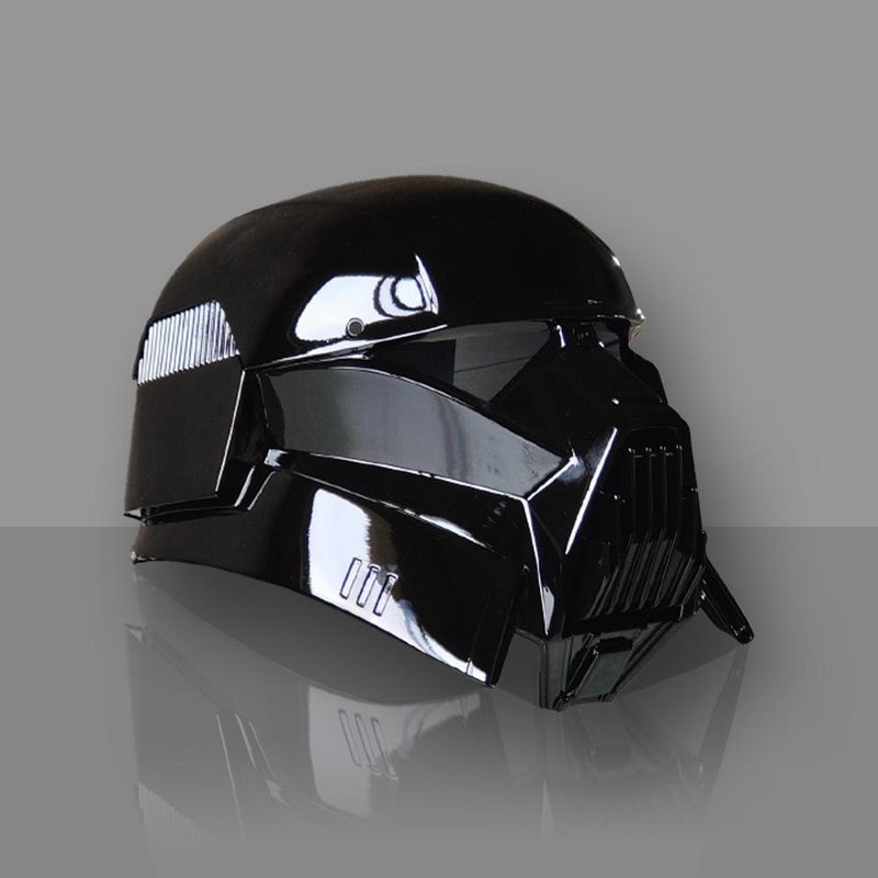 Xcoser Star Wars Mandalorian Dark Tropper Helmet (New Version)-Pre-Order Helmet- Xcoser International Costume Ltd.