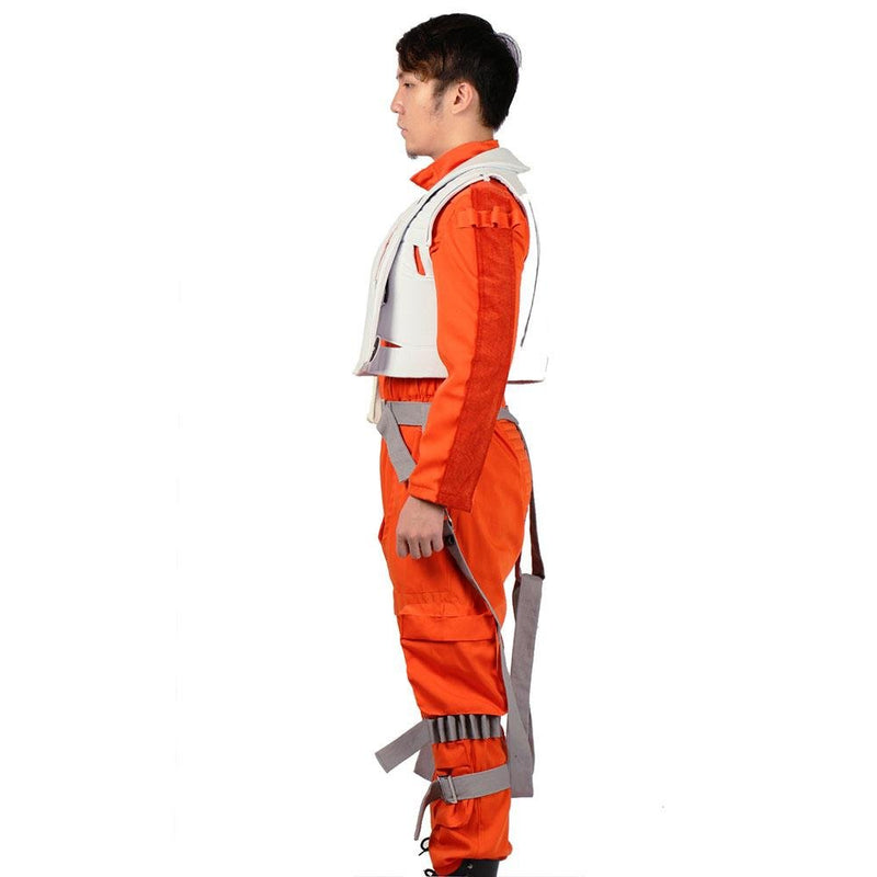Xcoser Star Wars Poe Dameron Cosplay Jumpsuit Unisex CostumesS- Xcoser International Costume Ltd.