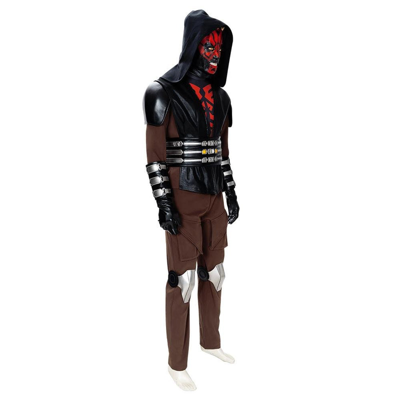 Xcoser Star Wars: The Clone Wars Darth Maul Cosplay Costume CostumesS (without mask)- Xcoser International Costume Ltd.