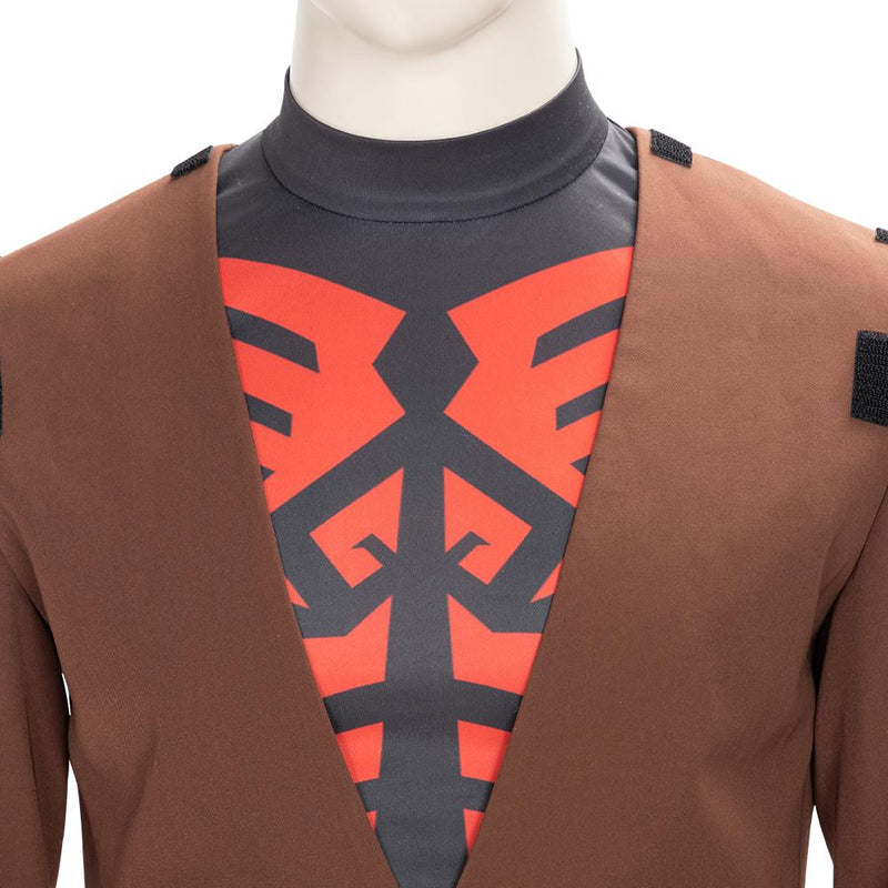 Xcoser Star Wars: The Clone Wars Darth Maul Cosplay Costume CostumesMask- Xcoser International Costume Ltd.