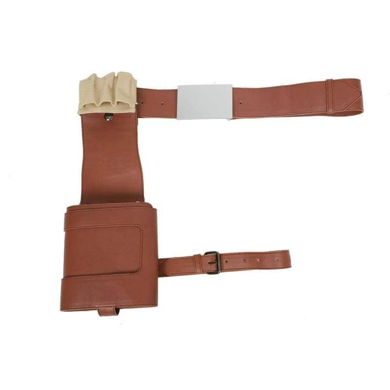 XCOSER Star Wars: The Force Awakens Cosplay Poe Dameron Brown PU Belt & Holster Poe Dameron Cosplay Costume Props Props- Xcoser International Costume Ltd.