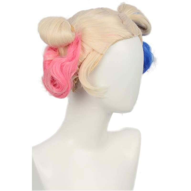 Xcoser Suicide Squad Harley Quinn Wig Bun Hairstyle Accessory - Wigs 2