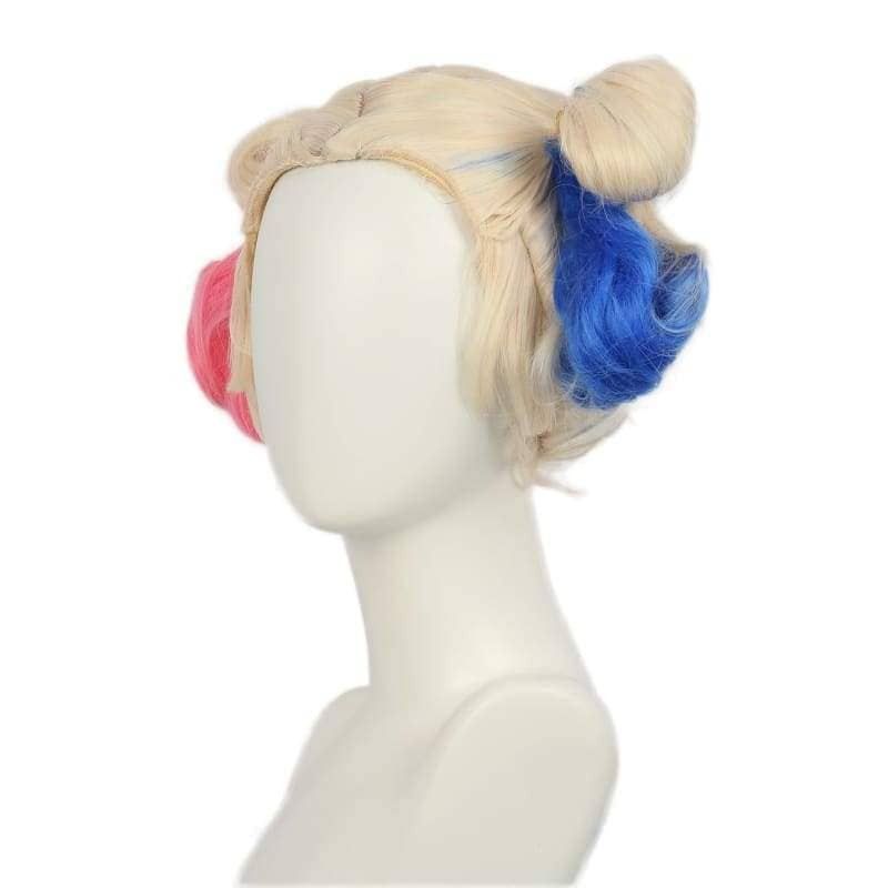 Xcoser Suicide Squad Harley Quinn Wig Bun Hairstyle Accessory - Wigs 3