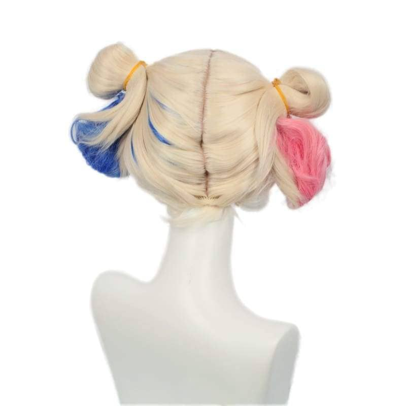 Xcoser Suicide Squad Harley Quinn Wig Bun Hairstyle Accessory - Wigs 4