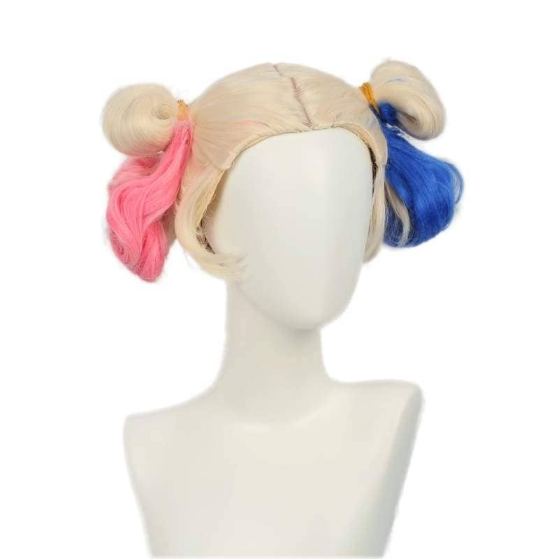 Xcoser Suicide Squad Harley Quinn Wig Bun Hairstyle Accessory - Wigs 1