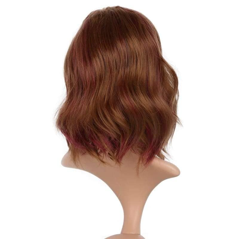Xcoser The Flash Magenta Cosplay Wig Charming Big Wavy Faux Hair For Women - Wigs 4