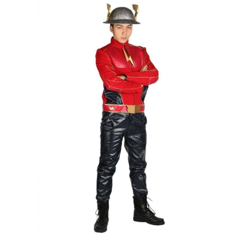 Xcoser The Flash Season 2 Jay Garrick Costume For Cosplay Party And Comic Con - Costumes 1