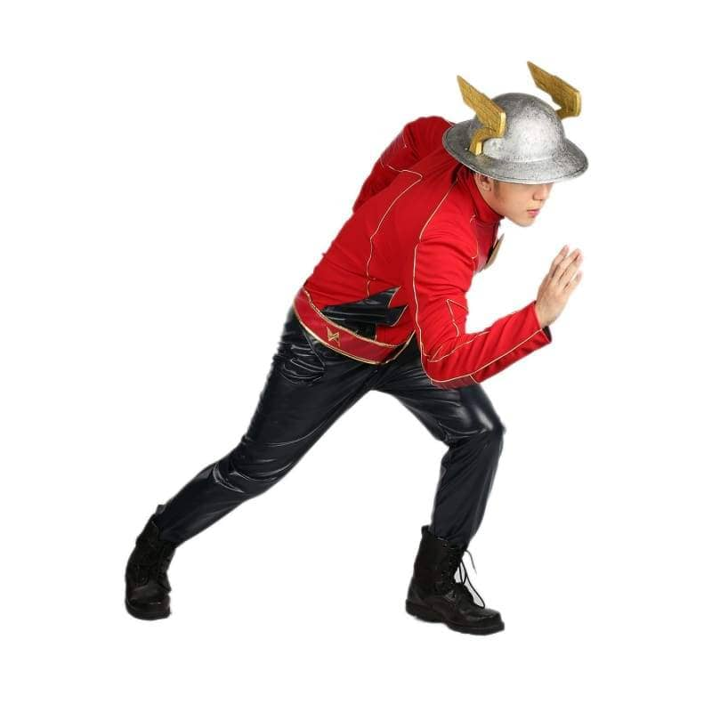 Xcoser The Flash Season 2 Jay Garrick Costume For Cosplay Party And Comic Con - Costumes 5