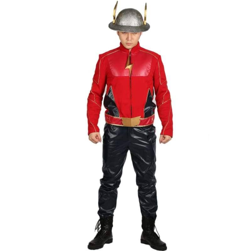 Xcoser The Flash Season 2 Jay Garrick Costume For Cosplay Party And Comic Con - Costumes