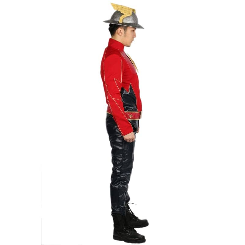 Xcoser The Flash Season 2 Jay Garrick Costume For Cosplay Party And Comic Con - Costumes 7