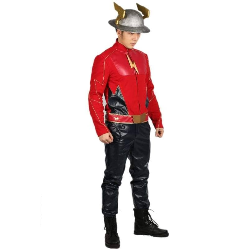 Xcoser The Flash Season 2 Jay Garrick Costume For Cosplay Party And Comic Con - Costumes 6