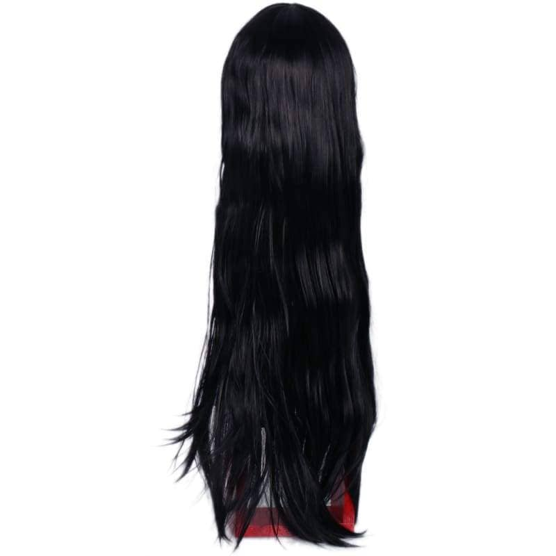 Xcoser The Mummy Wig Black Ultra-Long Straight Hair Cosplay - Wigs 3