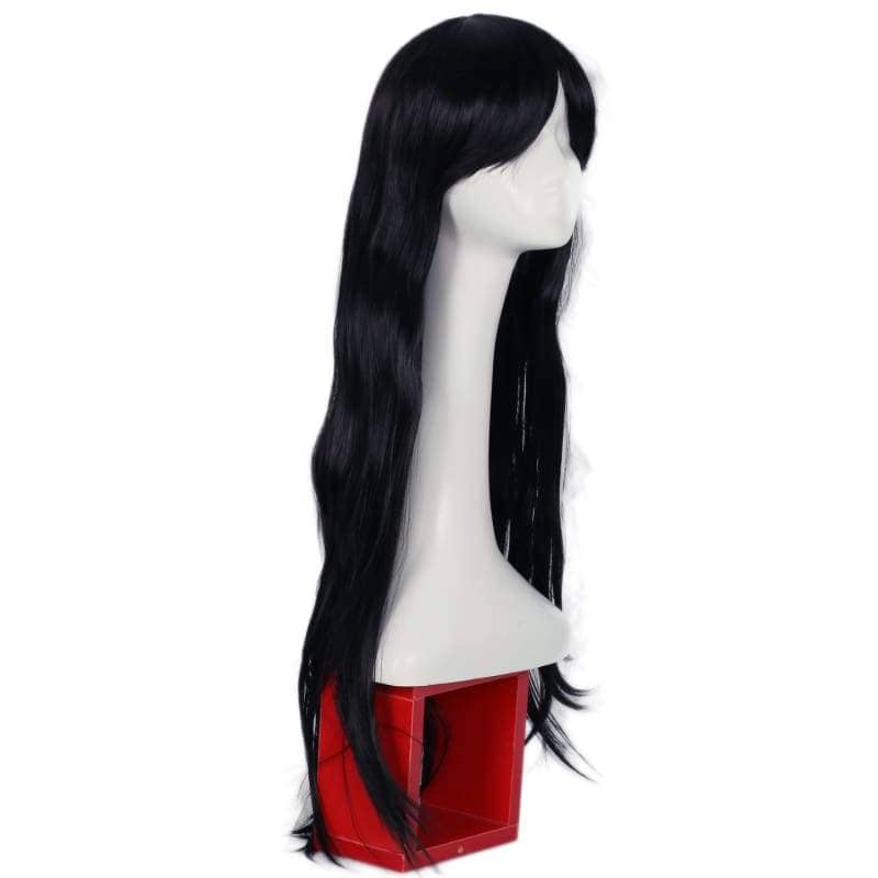 Xcoser The Mummy Wig Black Ultra-Long Straight Hair Cosplay - Wigs 2