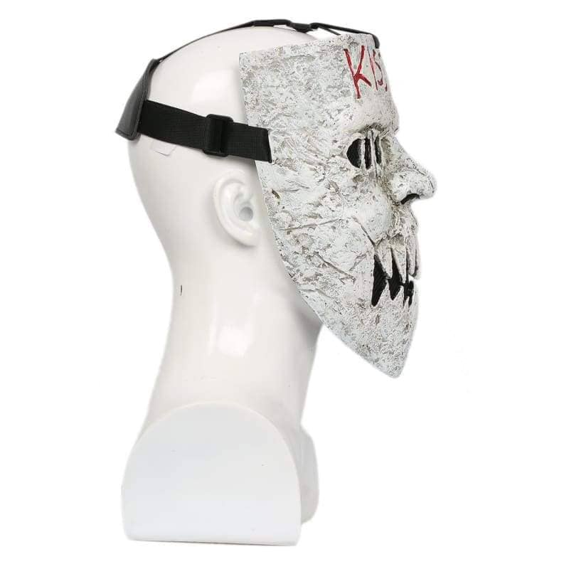 Xcoser The Purge: Anarchy Cosplay Masked Murderer Horrible Mask Costume Halloween - 8