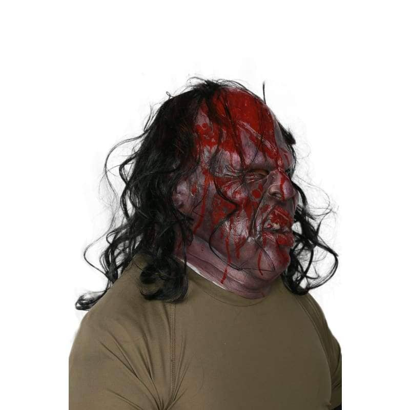 XCOSER Victor Crowley Cosplay Horrible Mask Full Head Mask With Wig Halloween Mask Masquerade Mask Mask- Xcoser International Costume Ltd.