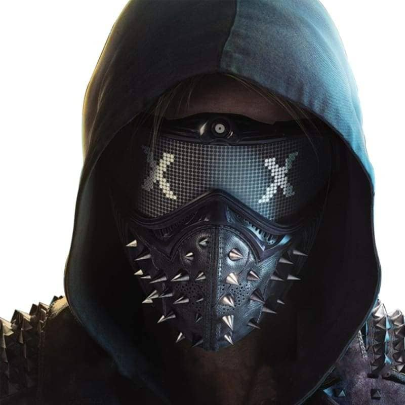 Xcoser Watch Dogs 2 Wrench Cosplay Mask - 1