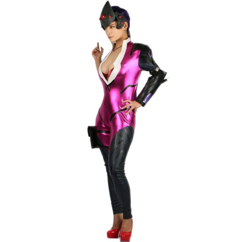 Xcoser Widowmaker Full Bodysuit Game Overwatch Girl Cosplay Costume CostumesS- Xcoser International Costume Ltd.